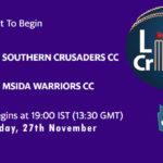 SCCC vs MWCC Live Score, ECS Malta T10, SCCC vs MWCC Scorecard Today, SCCC vs MWCC Lineup