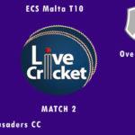 SCCC vs OCC Live Score, ECS Malta T10, SCCC vs OCC Scorecard Today, SCCC vs OCC Lineup