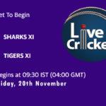 SHA vs TIG Live Score, Match 12, Pondicherry T20 Tournament, 2020, SHA vs TIG Scorecard Today, SHA vs TIG Lineup