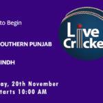 SPP vs SND Live Score, Match 11, Quaid-e-Azam Trophy, 2020, SPP vs SND Scorecard Today, SPP vs SND Lineup