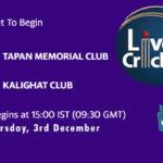 TMC vs KGT Live Score, Bengal T20 Challenge, TMC vs KGT Scorecard Today, TMC vs KGT Lineup
