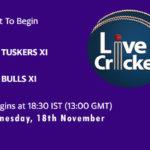 TUS vs BUL Live Score, Match 5, Pondicherry T20 Tournament, 2020, TUS vs BUL Scorecard Today, TUS vs BUL Lineup