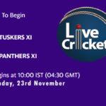 TUS vs PAN Live Score, Match 23, Pondicherry T20 Tournament, 2020, TUS vs PAN Scorecard Today, TUS vs PAN Lineup