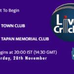 TWC vs TMC Live Score, Bengal T20 Challenge, TWC vs TMC Scorecard Today, TWC vs TMC Lineup