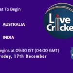 AUS vs IND Live Score, 1st Test, AUS vs IND Scorecard Today, AUS vs IND Lineup
