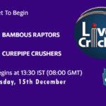 BR vs CC Live Score, Mauritius Cric10 League, BR vs CC Scorecard Today, BR vs CC Lineup