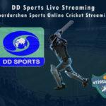DD Sports Live Streaming - Doordarshan Sports Online Cricket Streaming