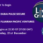 DPS vs FPV Live Score, Emirates D20 Tournament, DPS vs FPV Scorecard Today, DPS vs FPV Lineup