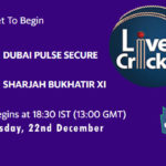 DPS vs SBX Live Score, Emirates D20 Tournament, DPS vs SBX Scorecard Today, DPS vs SBX Lineup