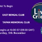 EBC vs TMC Live Score, Bengal T20 Challenge, EBC vs TMC Scorecard Today, EBC vs TMC Lineup