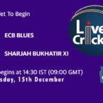 EBL vs SBX Live Score, Emirates D20 Tournament, EBL vs SBX Scorecard Today, EBL vs SBX Lineup