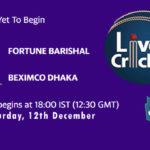 FBA vs BDH Live Score, Bangabandhu T20 Cup, FBA vs BDH Scorecard Today, FBA vs BDH Lineup