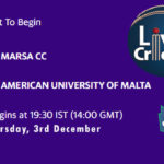 MAR vs AUM Live Score, ECS Malta T10, MAR vs AUM Scorecard Today, MAR vs AUM Lineup