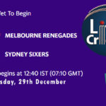 MLR vs SYS Live Score, Big Bash League, MLR vs SYS Scorecard Today, MLR vs SYS Lineup