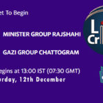 MRA vs GGC Live Score, Bangabandhu T20 Cup, MRA vs GGC Scorecard Today, MRA vs GGC Lineup