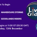 MS vs GR Live Score, Mauritius Cric10 League, MS vs GR Scorecard Today, MS vs GR Lineup