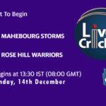 MS vs RHW Live Score, Mauritius Cric10 League, MS vs RHW Scorecard Today, MS vs RHW Lineup