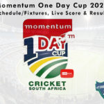 Momentum One Day Cup 2021 - Schedule/Fixtures, Live Score & Results