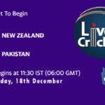 NZ vs PAK Live Score, 1st T20I, NZ vs PAK Scorecard Today, NZ vs PAK Lineup