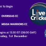 OVR vs MSW Live Score, ECS Malta T10, OVR vs MSW Scorecard Today, OVR vs MSW Lineup