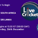 SA vs SL 1st Test Live Score, SA vs SL 1st Test Scorecard Today, SA vs SL 1st Test Lineup