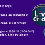 SBX vs DPS Live Score, Emirates D20 Tournament, SBX vs DPS Scorecard Today, SBX vs DPS Lineup