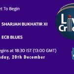 SBX vs EBL Live Score, Emirates D20 Tournament, SBX vs EBL Scorecard Today, SBX vs EBL Lineup