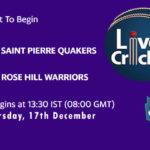 SPQ vs RHW Live Score, Mauritius Cric10 League, SPQ vs RHW Scorecard Today, SPQ vs RHW Lineup