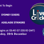 SYS vs ADS Live Score, Big Bash League, SYS vs ADS Scorecard Today, SYS vs ADS Lineup