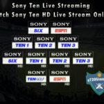 Sony Ten Live Streaming - Watch Sony Ten HD Live Stream Online