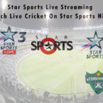 Star Sports Live Streaming - Watch Live Cricket On Star Sports Hindi