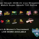 Super Smash 2020-21 Live Streaming - Watch Super Smash T20 Online