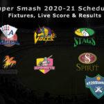 Super Smash 2020-21 Schedule - Fixtures, Live Score & Results