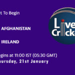 AFG vs IRE Live Score, 1st ODI, Afghanistan and Ireland tour of UAE, 2021, AFG vs IRE Scorecard Today Match, Playing XI, Pitch Report