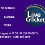 AND vs DEL Live Score, Syed Mushtaq Ali Trophy, AND vs DEL Scorecard Today Match, Playing XI, Pitch Report