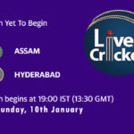ASM vs HYD Live Score, Syed Mushtaq Ali Trophy, Dream11 Fantasy Cricket Tips, Playing XI, Pitch Report