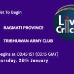 BGP vs TAC Live Score, Prime Minister Cup, 2021, 2nd Semi-Final, BGP vs TAC Scorecard Today Match, Playing XI