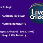CK vs NK Live Score, Super Smash, 2020/21, CK vs NK Scorecard Today Match, Playing XI, Pitch Report