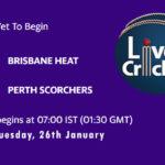 HEA vs SCO Live Score, Big Bash League, 2020/21, HEA vs SCO Scorecard Today Match, Playing XI, Pitch Report