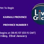 KNP vs PRN1 Live Score, Prime Minister Cup 2021, KNP vs PRN1 Scorecard Today Match, Playing XI, Pitch Report