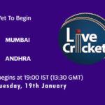 MUM vs AND Live Score, Syed Mushtaq Ali Trophy, 2021, MUM vs AND Scorecard Today Match, Playing XI, Pitch Report