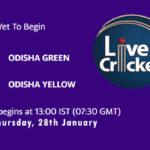 ODG-W vs ODY-W Live Score, Odisha Women's T20 2021, ODG-W vs ODY-W Scorecard Today Match, Playing XI, Pitch Report