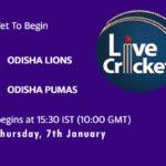 ODL vs OPU Live Score, Odisha Cricket League, ODL vs OPU Scorecard Today, ODL vs OPU Lineup