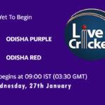 ODP-W vs ODR-W Live Score, Odisha Women's T20 2021, ODP-W vs ODR-W Scorecard Today Match, Playing XI, Pitch Report