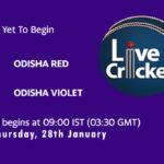 ODR-W vs ODV-W Live Score, Odisha Women's T20 2021, ODR-W vs ODV-W Scorecard Today Match, Playing XI, Pitch Report