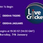 ODT vs ODJ Live Score, Odisha Cricket League, ODT vs ODJ Scorecard Today, ODT vs ODJ Lineup