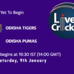 ODT vs OPU Live Score, Odisha Cricket League, ODT vs OPU Scorecard Today, ODT vs OPU Lineup