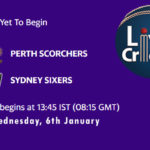 PRS vs SYS Live Score, Big Bash League, PRS vs SYS Scorecard Today, PRS vs SYS Lineup