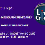 REN vs HUR Live Score, Big Bash League, 2020/21, REN vs HUR Scorecard Today Match, Playing XI, Pitch Report