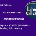 STA vs HOH Live Score, Big Bash League, STA vs HOH Scorecard Today, STA vs HOH Lineup